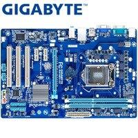 GIGABYTE GA-H61-S3 Desktop Motherboard H61 Socket LGA 1155 i3 i5 i7 DDR3 16G ATX Original H61-S3 Used