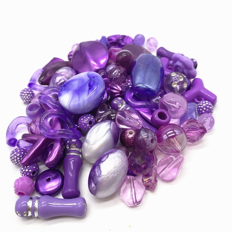 Новинка 20 г акриловые бусины смешанные бусины стиль для DIY ювелирные изделия браслеты ручной работы изготовление аксессуаров - Цвет: 20
