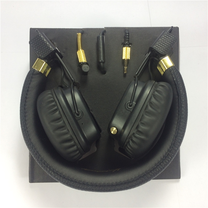 24 Hours shipping Major II Wired Headphones and wireless 2nd major headsets earphones for marshall good quality marshall major ii brown headphones 04091112