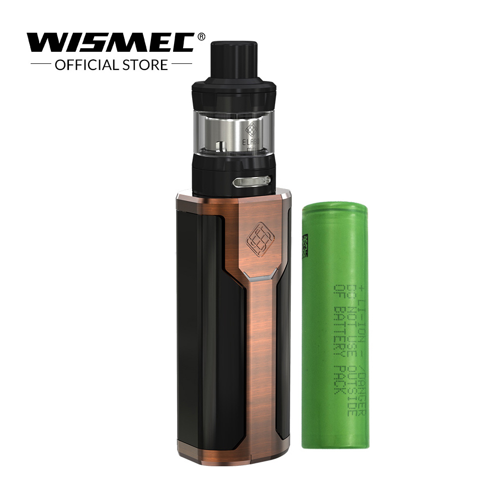 [Official Store]Original Wismec SINUOUS P80 Kit with Elabo Mini Tank 2ML 80W Mod Box With 18650 battery Electronic cigarette kit original wismec sinuous p80 kit with elabo mini tank 2ml 80w max output mod box uses single 18650 battery electronic cigarette