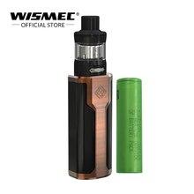 [Loja oficial] Original Wismec SINUOSO P80 Kit com Elabo Mini Tanque 2 ML Caixa de 80 W Mod Com 18650 kit cigarro Eletrônico bateria