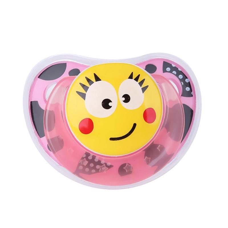 Милая портативная детская Силиконовая пустышка для новорожденных забавная Соска-пустышка анти-Пылезащитная крышка безопасный грызунок для младенцев инструмент для кормления - Цвет: A