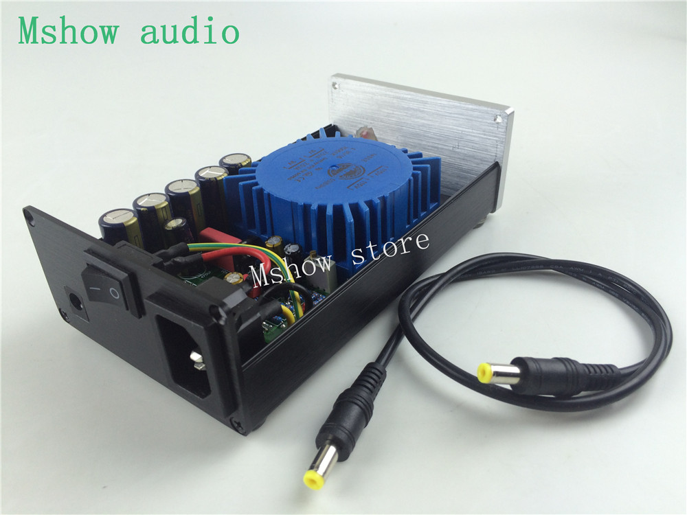 Punctual Mshow P2 25va Upgrade Talema Ultra-low Noise Linear Power Supply Psu Output Dc 15v 18v 24v High Quality For Hifi Audio Amp Dac 100% Guarantee Amplifier