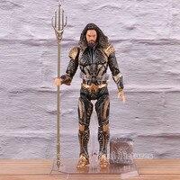 Justice League DC Mafex Aquaman Figure Action Atlantis Trident PVC Collectible Model Toy Arthur Curry