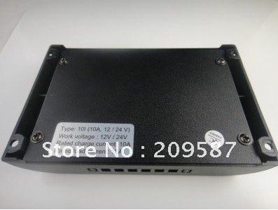 10A 12 V/24 V авто отличить PWM регулятором солнечного уличного света контроллер зарядки панели