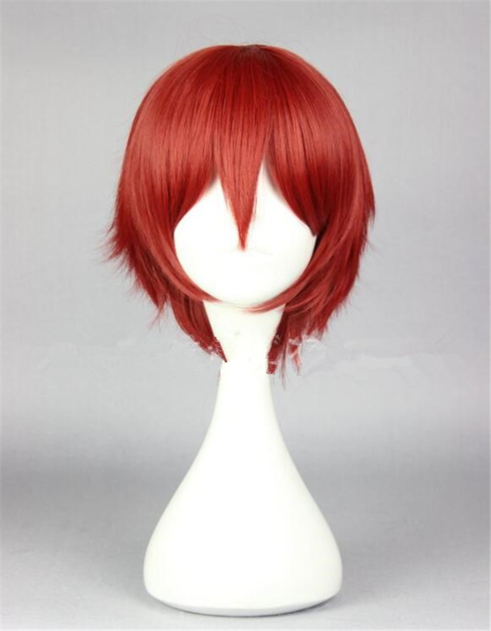 Anime Assassination Classroom Cosplay Wig Akabane Karma Cosplay Costume Role Wig Halloween Party Wig A598