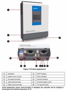 Image 5 - EPever cargador inversor UPower para batería de 24V y 48V, inversor de conexión a red y cargador Solar MPPT, UP3000 M3322 M2142