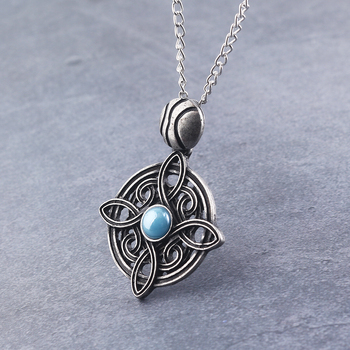 The Elder Scrolls Amulet of Mara Necklace Oblivion Morrowind Amulet Pendant Necklace For Women Men Charms Jewelry image