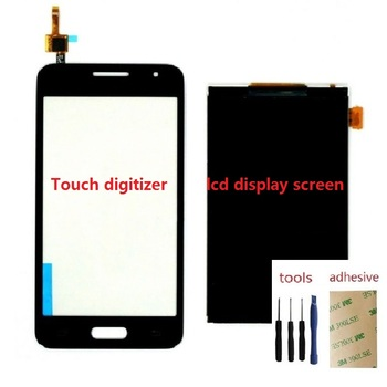 Touch Screen Digitizer Sensor LCD Display Screen For Samsung Galaxy Core 2 SM-G355H/DS G355H G355F цена 2017