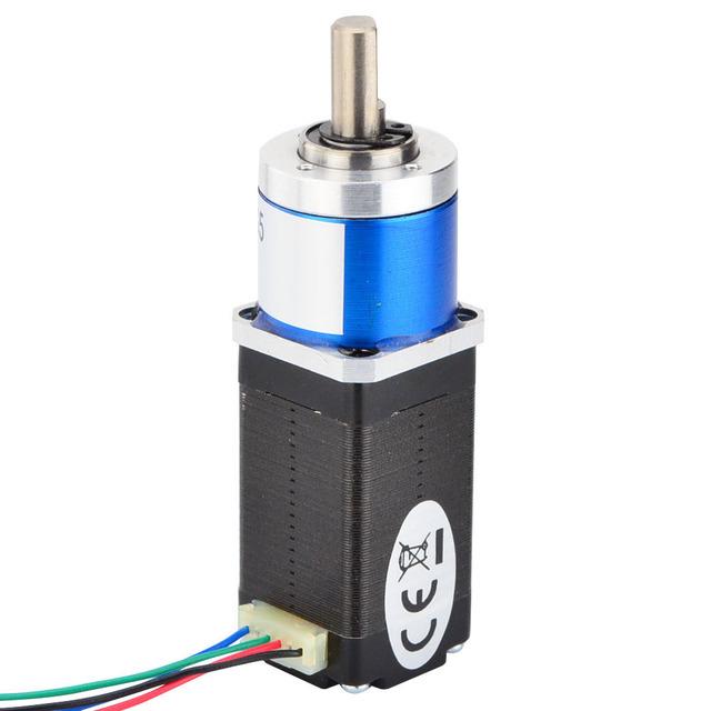 5:1 Planetary Gearbox Nema 8 Stepper Motor 0.6A 4-lead Small Size High Torque for CNC 3D Printer