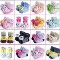 20 Конструкций Новорожденные Носки 0-12мес Детские противоскользящие Животных Носок для девочек мальчиков шланг Груза падения