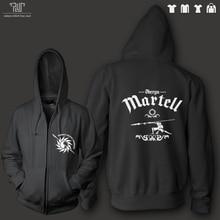 Game of thrones Oberyn martell orignal design men unisex zip up hoodie sweatershirt 100% 82% cotton fleece inside Free Shipping