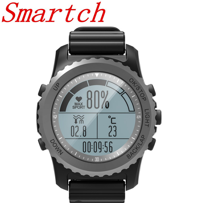 Smartch 2018 New Design S968 Men's Bluetooth Smart Watch Support GPS,Air Pressure,Call,Heart Rate,Sport Watch fitness tracker wireless service call bell system popular in restaurant ce passed 433 92mhz full equipment watch pager 1 watch 7 call button