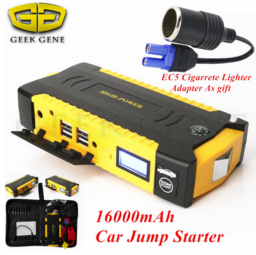2017 Mini Car Jump Starter 600A Portable Starter Power Bank 12V Charger for Car Battery Booster Buster Diesel Starting Device CE car jump starter car power bank high quality mobile portable mini jump starter power battery charger phone laptop power bank