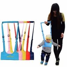 Ходунки ребенка жгут помощник поводок для ребенка для детей обучающий ходьбе Детский пояс Детские вожжи помощник новое поступление