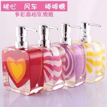 Hand washing liquid bottle, resin emulsion bottle, European emulsion bottle, pressure mouth, beauty salon, shampoo
