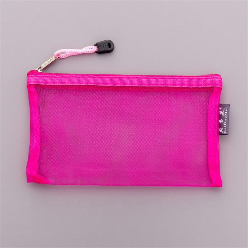 Casual Travel Cosmetic Bag Women Zipper Make Up Transparent Makeup Case Organizer Storage Pouch Toiletry Beauty Wash Kit Bags