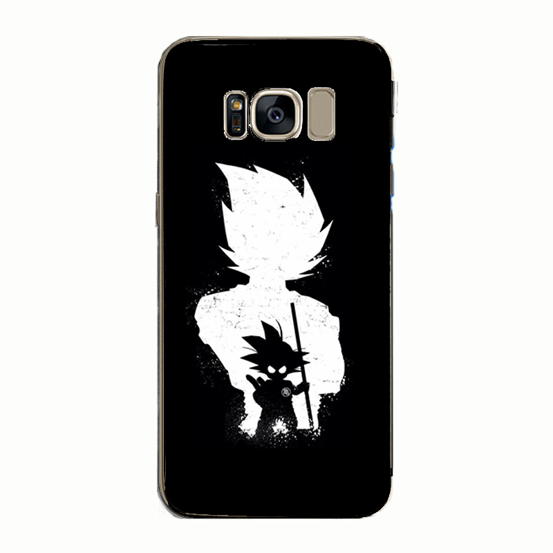 Dragon Ball Back Cover Soft TPU Phone Cases Capa for Samsung S8 S9 s6 s7edge plus Note8 9 Note5 4 in Fitted Cases from Cellphones Telecommunications