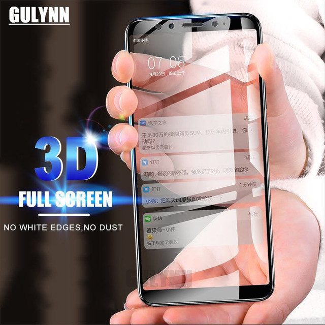 Full Cover Tempered Glass For Samsung Galaxy A3 A5 A7 J5 3 J7 2016 2017 Screen Protector For Samsung A8 A8 Plus 2018 Protective