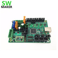Clone Reprap Prusa I3 Mini Rambo 1 3a Mainboard For Prusa I3 MK2 3d Printer Designed
