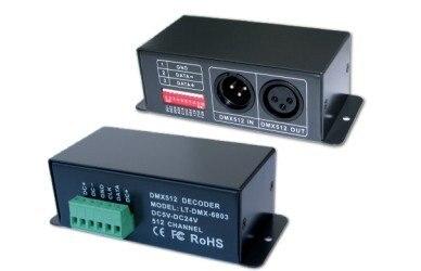 Le décodeur DMX 6803 DMX SPI de LT fonctionne pour convertir le signal universel DMX 512 en signal SPI, DC5-24V