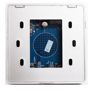 Image 2 - 黒タッチボタン12ボルトnc noドア出口リリースボタンスイッチ用アクセス制御付きledスクエアタイプ