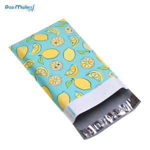 Image 5 - 100pcs 15x23cm 6x9 pollici lemon frutta modello Poli Guarnizione di Auto di Plastica Della Busta Borse