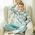 Bonito Urso Panda Pijamas Mulheres e Homem Roupa Em Casa de Pijama para As Mulheres Quente Velo Coral Pijama Roupa de Dormir de Pijama
