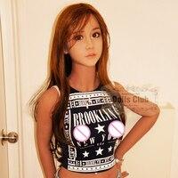 新しい153センチ大人リアルシリコーンセックス人形のため男