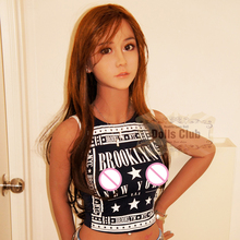 New 153cm Adult Real Silicone Sex Doll for Men Full Body Small Breast Japan Head Tan Skeleton Vagina Pussy Ass Sexy Love Doll