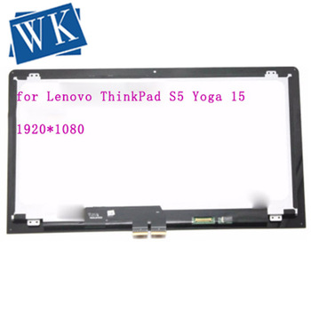 "15.6"" Touch Panel Glass Digitizer + LCD Screen Display Assembly For IBM Lenovo ThinkPad S5 Yoga 15 20DQ 20DQ0038GE Ultrabook"