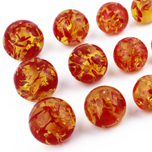 GDFSY 100pcs/lot 6/8/10/12/14/16/18/20mm  Jewelry Making Bracelet Necklace Accessories Handmade DIY Round Resin Beads S004