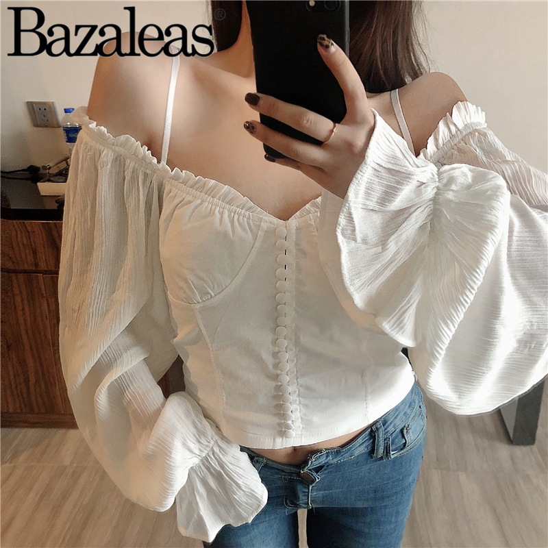 Femenina Tops Recorte Blanco Y 788cy658 De Cosecha Blusas Botones Mujer Blusa xaP0dC