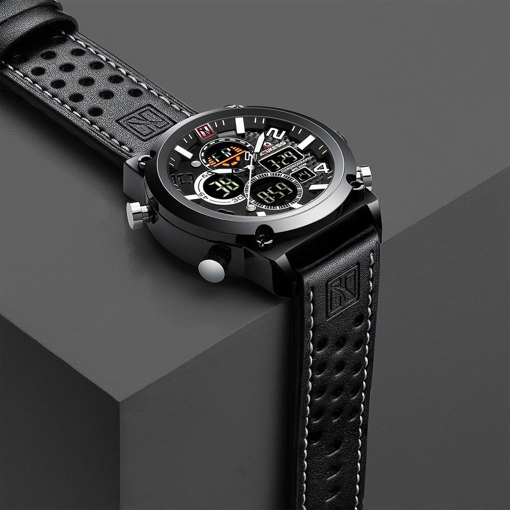 De luxe relogio masculino hommes Montres Étanche reloj hombre poignet de sport Montre pour Hommes Heure Militaire Quartz Mâle Horloge 2019
