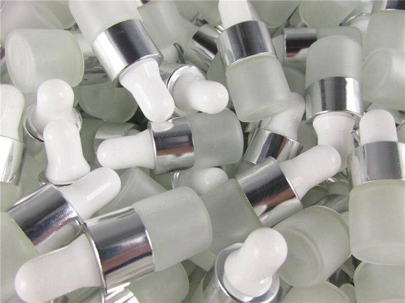 100 pcs/lot 1 ml 2 ml 3 ml 5 ml Klar Gefrostet Glas Dropper Flasche Gläser Fläschchen Mit pipette Für Kosmetik Parfüm Ätherisches Öl Flaschen