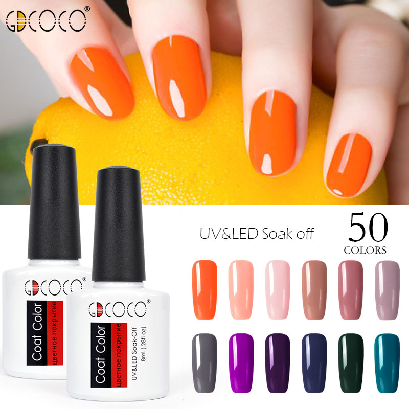 70312 # GDCOCO Gel Unha Polonês Canni Fábrica Nova Cor Gel Polonês alta Qualidade Nail Art Salon Soak Off LED UV Unhas de Gel verniz