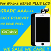 5PCS Grade AAA LCD No Dead Pixel Display For Apple IPhone 6S Plus 5 5 LCD
