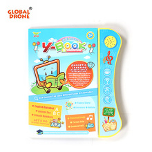 ФОТО multi-functionyphone ybook english touch screen learning reading machine toy for kid children fun study educational toy