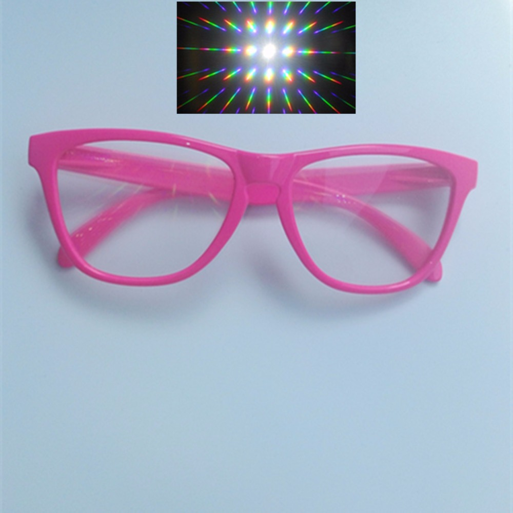 Consumer Electronics 13500 Strong Lines 3d Rainbow Gratings 20pcs Packs Fun Fireworks Diffraction Glasses For Rave Prism Parties&new Year Concerts
