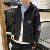Spring And Autumn 2019 Jacket Men's Wear Slim Hundred Set Fashion Collar Korean Edition Hat Slim Casual Coat Jackets Men Basebal
