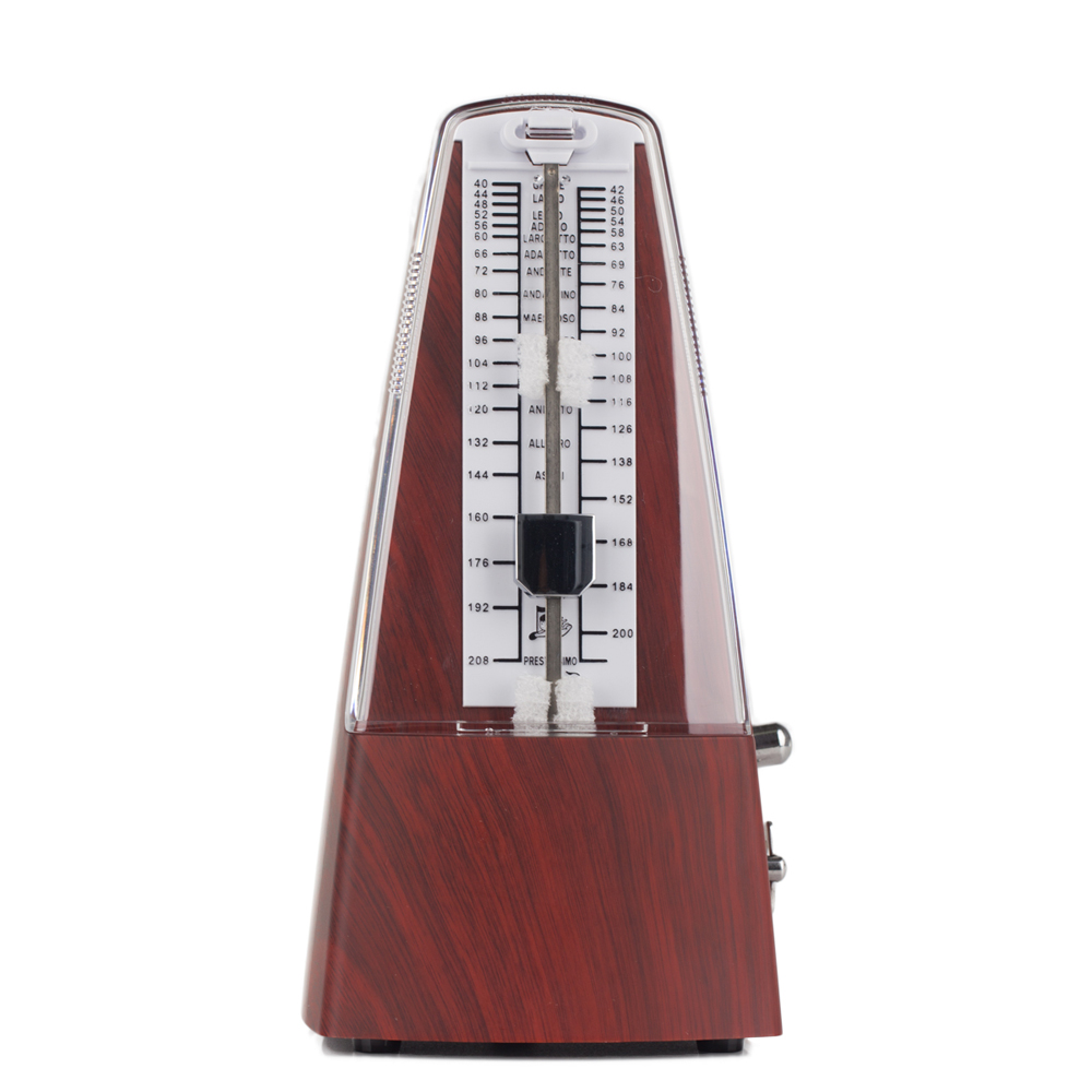 cherry wood cherub wsm 330 mechanical metronome professional high accuracy for guitar piano. Black Bedroom Furniture Sets. Home Design Ideas