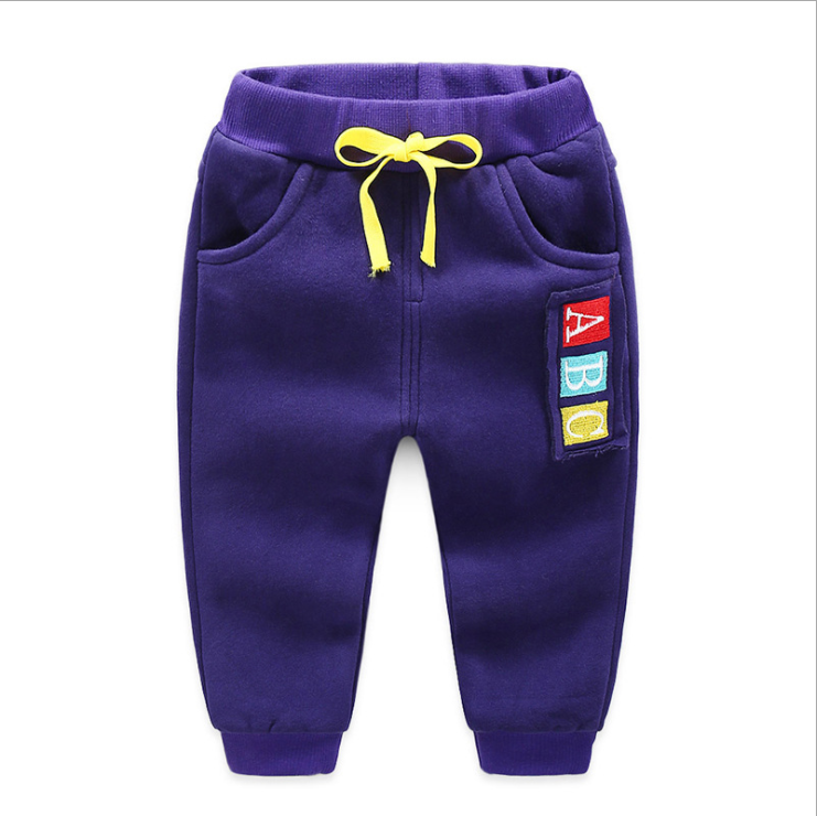 JGVIKOTO Kids Sports activities Pants Winter Child Boys Woman Heat Plus Thick Velvet Pants Chlidren Leggings Winter Colourful Pant HTB1sSxVe5MnBKNjSZFoq6zOSFXap