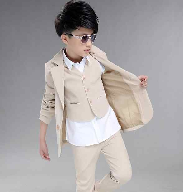 Dhl10個/卸売子供学校スーツ用男の子イングランドスタイル男の子フォーマルウェディングブレザースーツ男の子パフォーマンススーツパーティータキシード