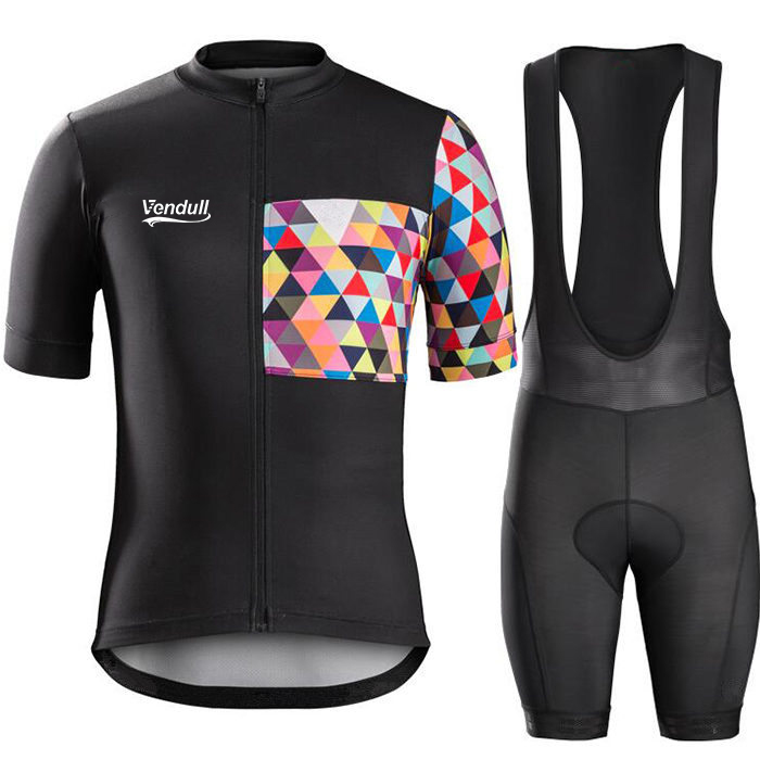 Vendull 2018 new Brands Hot Summer Men Cycling Jerseys Breathable Bike Clothing Short Ropa Ciclismo Sportwear outdoor equipment