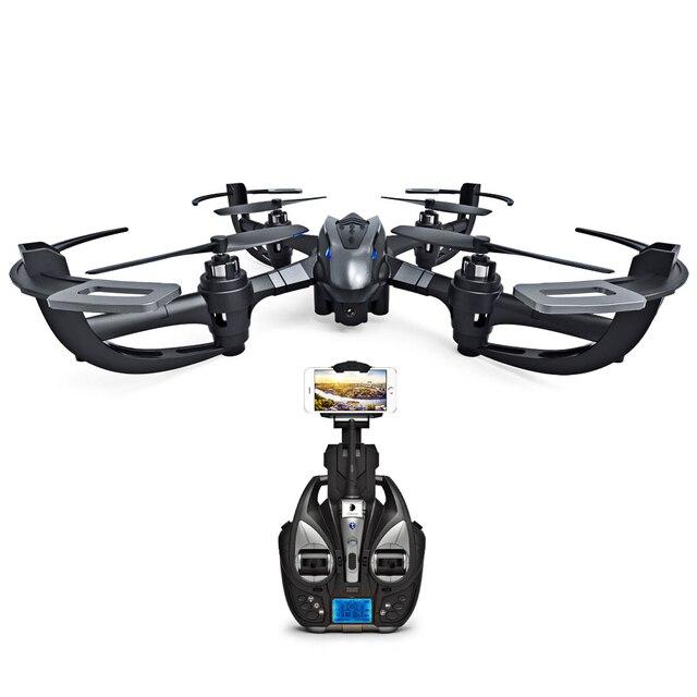 Mini Drone Headless i4w 0.3MP WIFI FPV Camera 2.4GHz 4 Channel 6 Axis Gyro Quadcopter  With 360 Degree Rollover RTF Remote L3FE