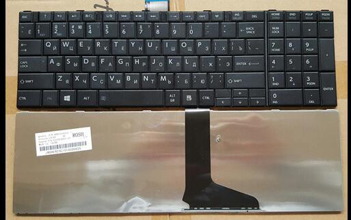 Russian Keyboard for TOSHIBA SATELLITE L850 L850D P850 L855 L855D L870 L870D 9Z.N7USV.00R 6037B0068208 S950 S950D S955 S955D RU