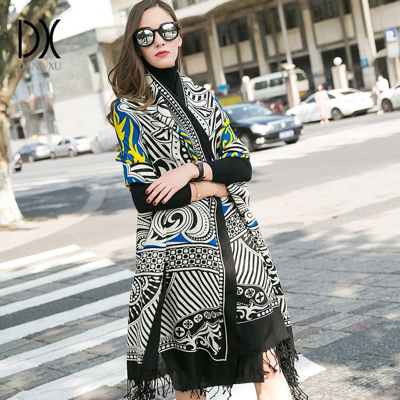 Winter luxury Brand Plaid Cashmere <font><b>Scarf</b></font> Women Oversized Blanket <font><b>Scarf</b></font> Wrap long Wool <font><b>Scarf</b></font> Women Pashmina Shawls and <font><b>Scarves</b></font>