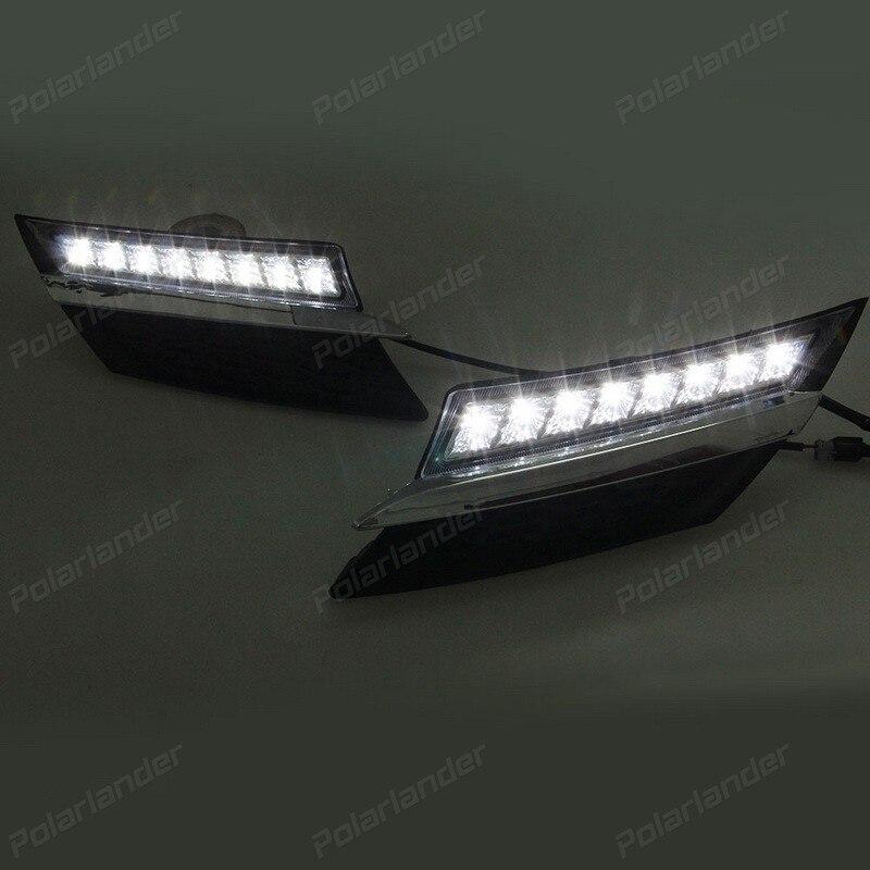 hot selling fog lamp auto part For T/oyota R/AV4 2014-2015 daytime running lights car styling антенна daimond srh 805s