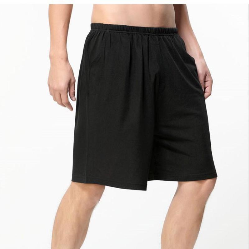 Casual Loose Men's Satin Silk Shorts Summer Pajamas Soft Boyshort Underwear Pajamas Sexy Pajamas Underwear Pajama Pants