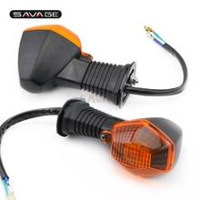 Спереди и сзади Поворотная сигнальная лампа вспышка для Suzuki dr-z 400 SV650 1000 SFV 650 Gladius Аксессуары для мотоциклов индикаторная лампа